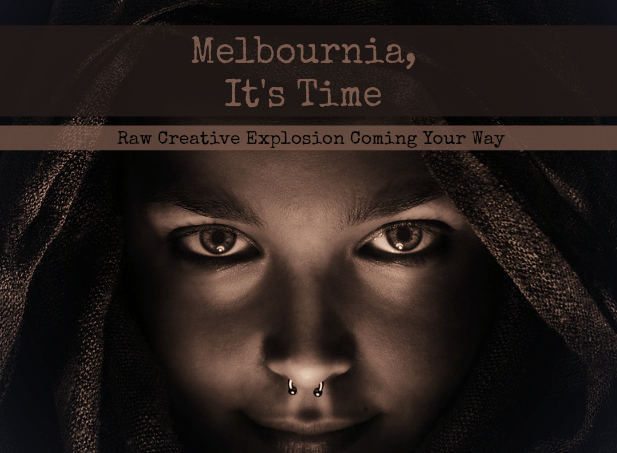 Raw Creative Explosion Melbourne Pippa-la Doube expression and creativity