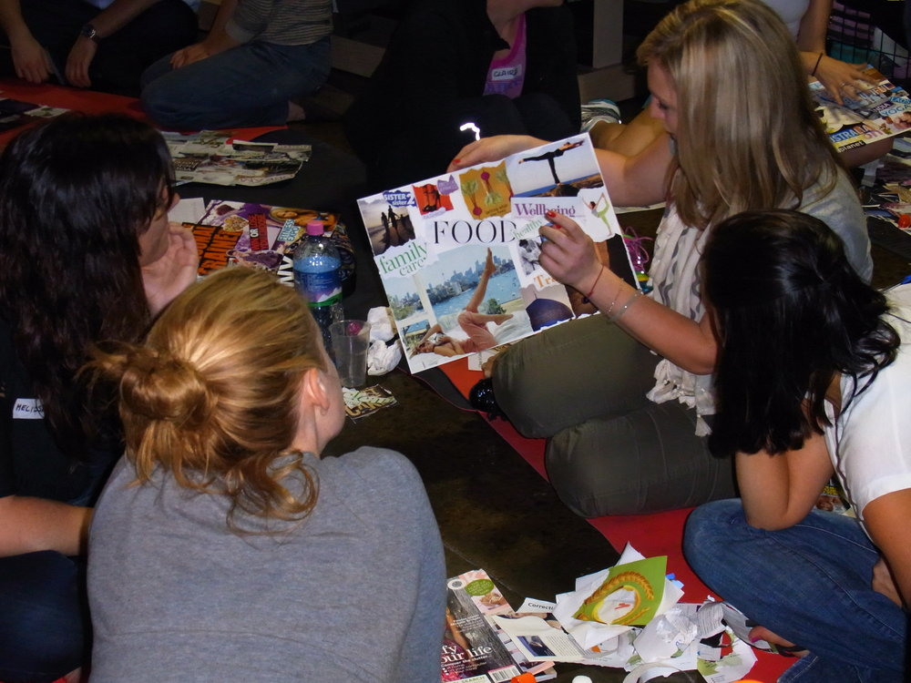 Vision board workshop inspired life creative visioning divine design creation pippa-la pippa doube creativity