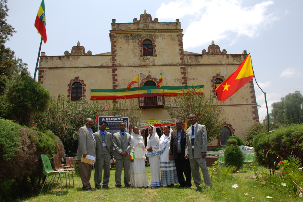 The library is a focal point of civic pride for the residents of Axum.
