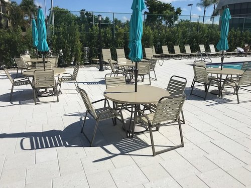 New Commercial Grade Patio Furniture For Condominiums In Naples