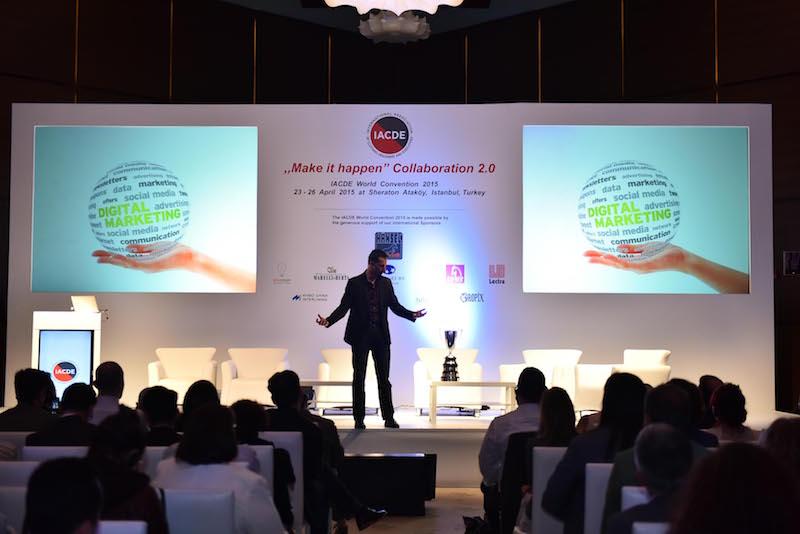 """Mustafa İÇİL """"Dijital Dönüşüme Ayak Uydurmak"""" (IACDE Uluslararası Etkinliği)"""