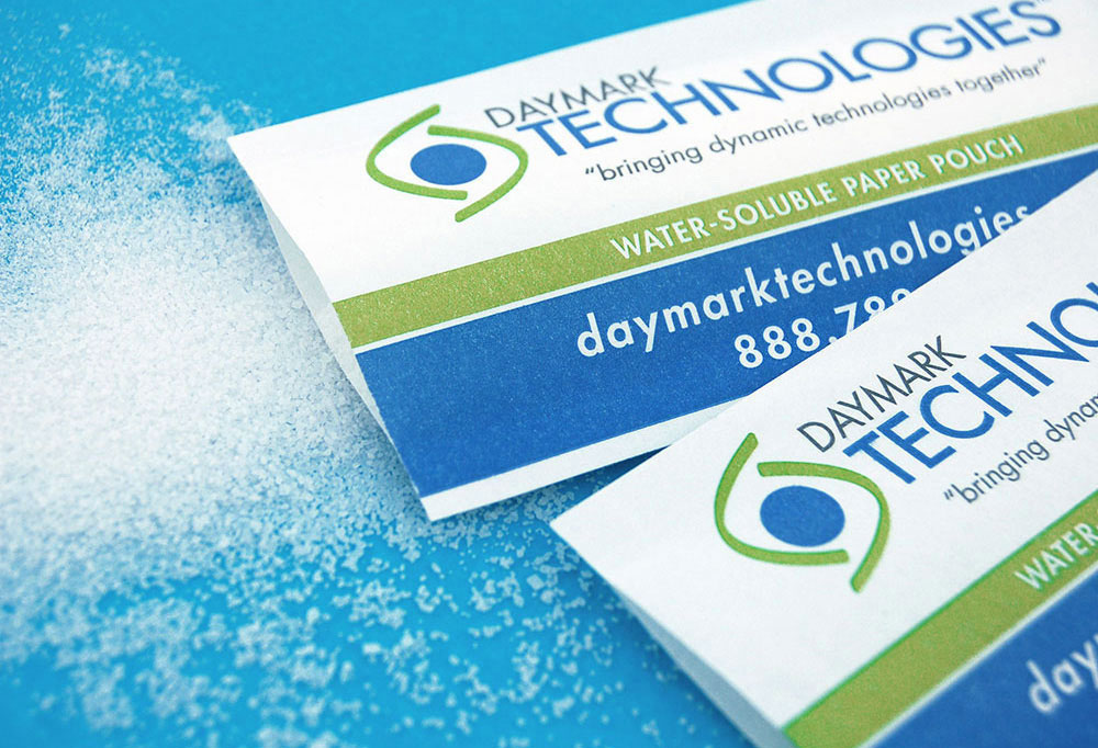 Beginning in 2016, DayMark Technologies became SmartSolve® Industries, with expanded entry into markets seeking water soluble, paper-based packaging and materials. SmartSolve Industries is a CMC Group Company.