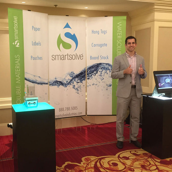 Jonathan Jakubowski , Division Leader for SmartSolve Industries, at PACE Americas 2016.