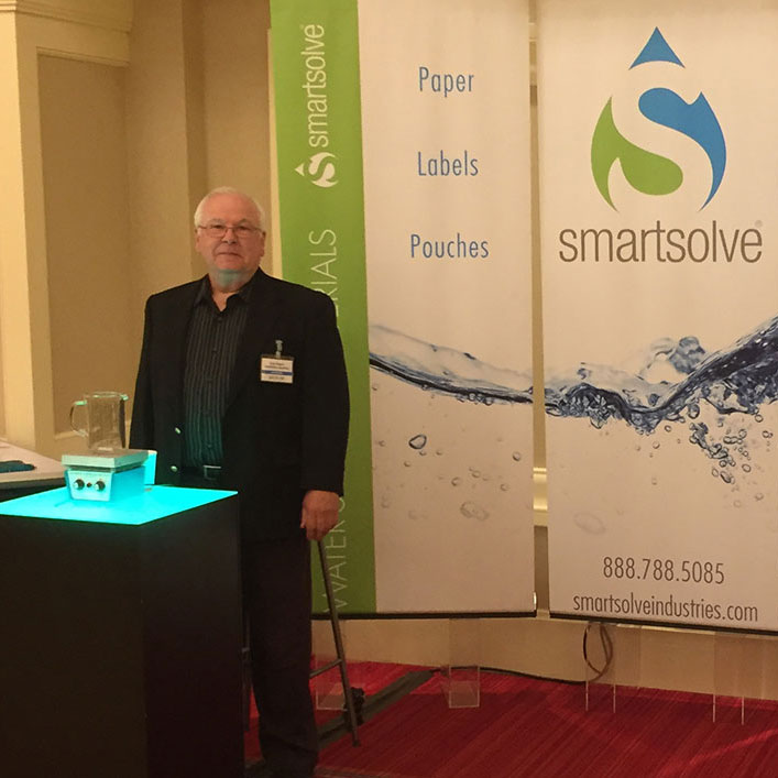 Gregory Rogers , VP of Business Development for SmartSolve Industries, at PACE Americas 2016.