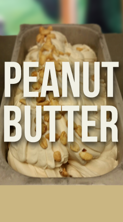 PEANUT BUTTER GELATO  Peanut Butter….Need I say more?