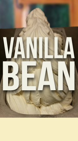VANILLA BEAN GELATO    Fresh, pure flavor made with Madagascar vanilla bean.
