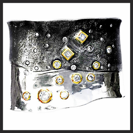 BLACK & WHITE DIAMOND CUFF.jpg
