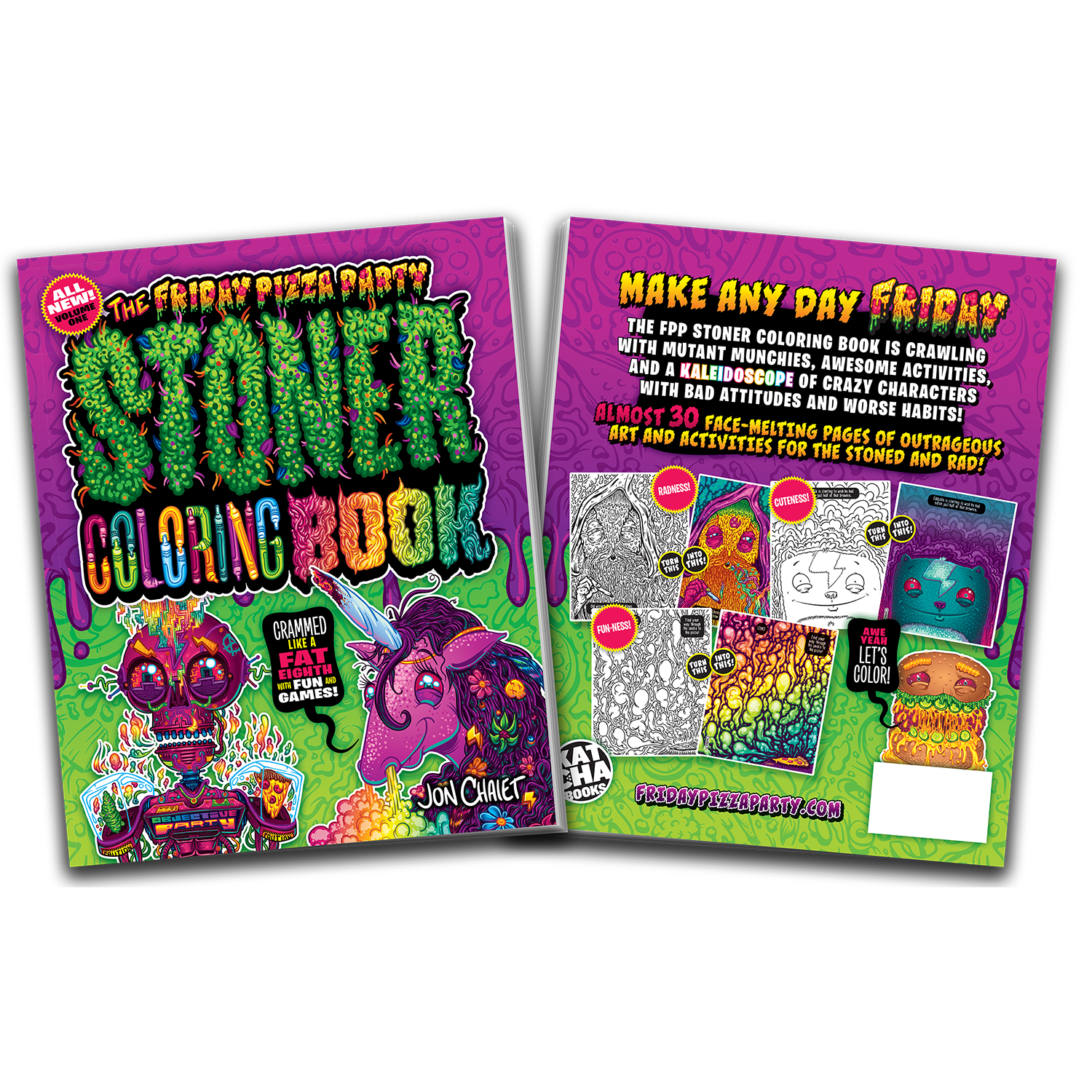 - The FPP Stoner Coloring Book — FRIDAY PIZZA PARTY