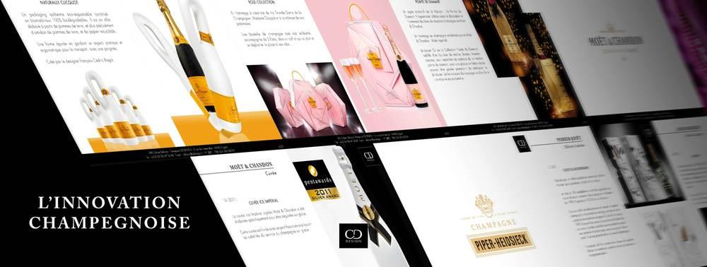 Etude des processus de différentiation par l'innovation des grandes Maisons de Champagne