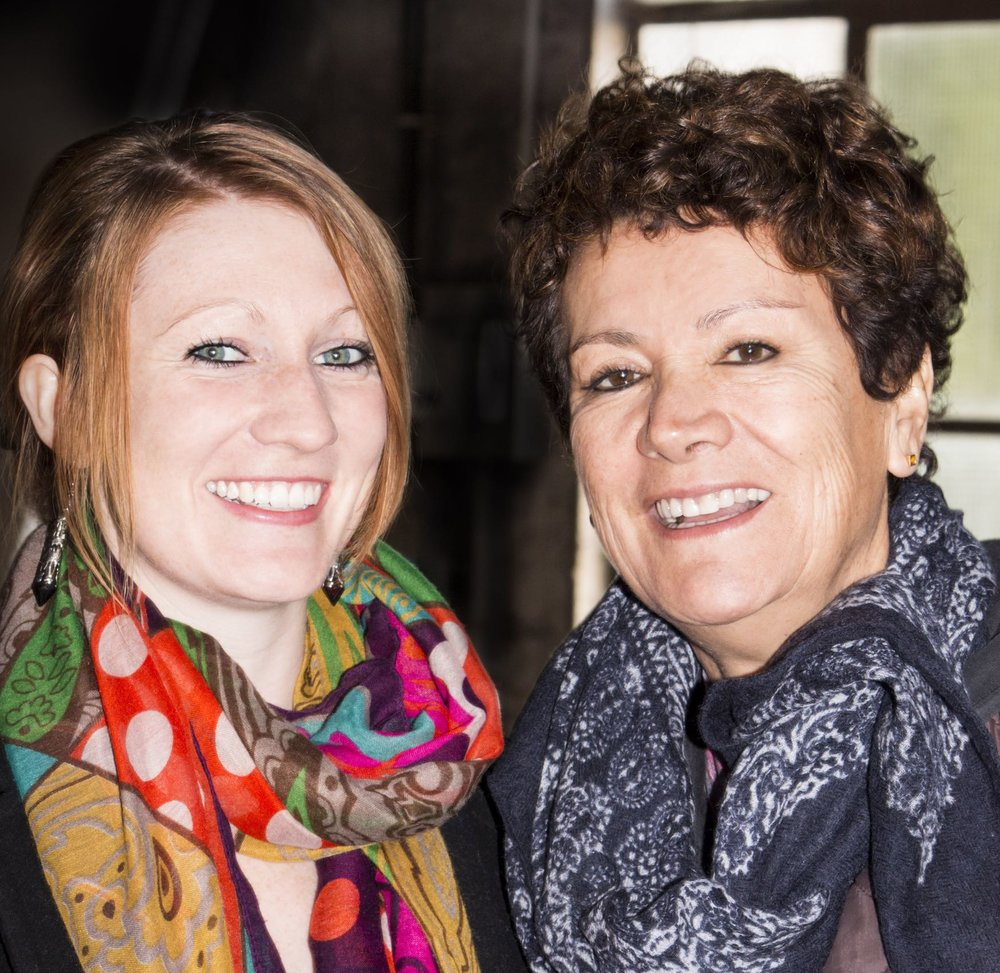 Céline DELCOURT et Maria PERAFAN - Deux Artistes Passionnées