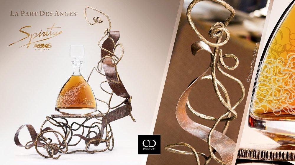 SPIRITU, une œuvre artistique autour du cognac