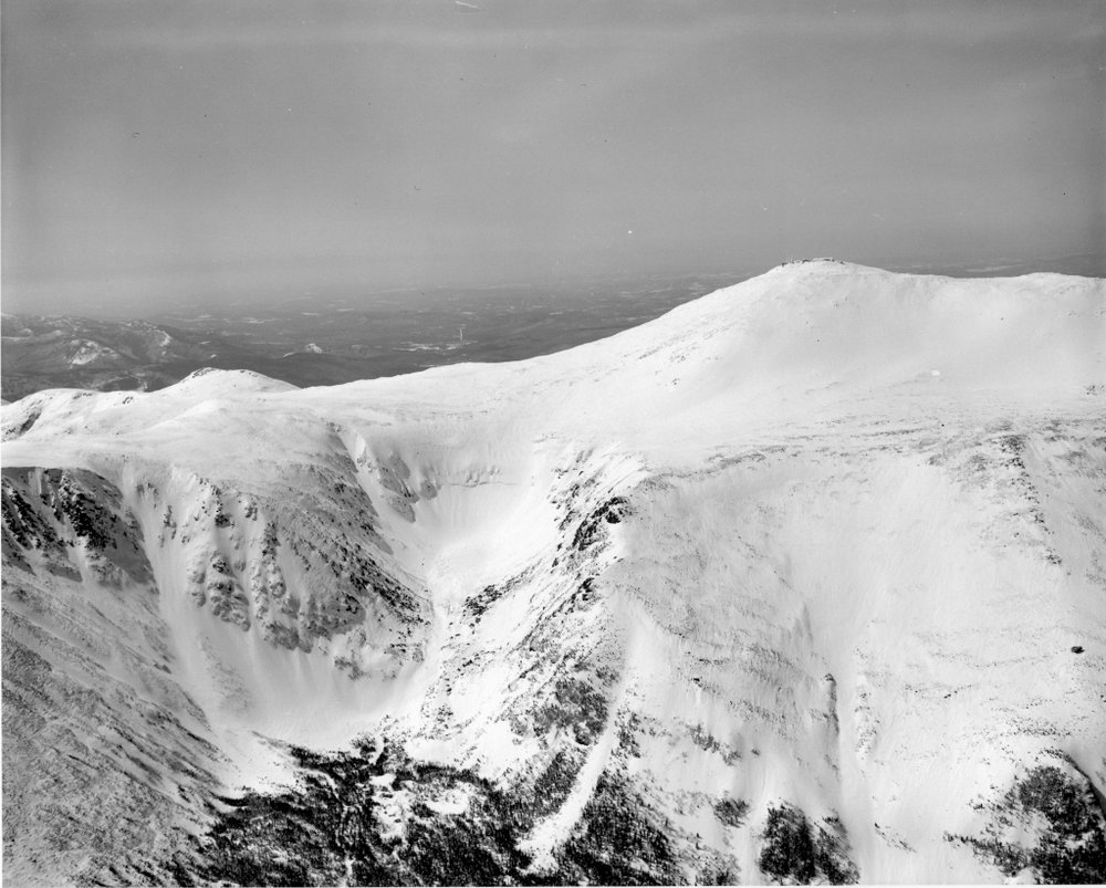 The summit of Mount Washington. Photo credit Dick Smith.