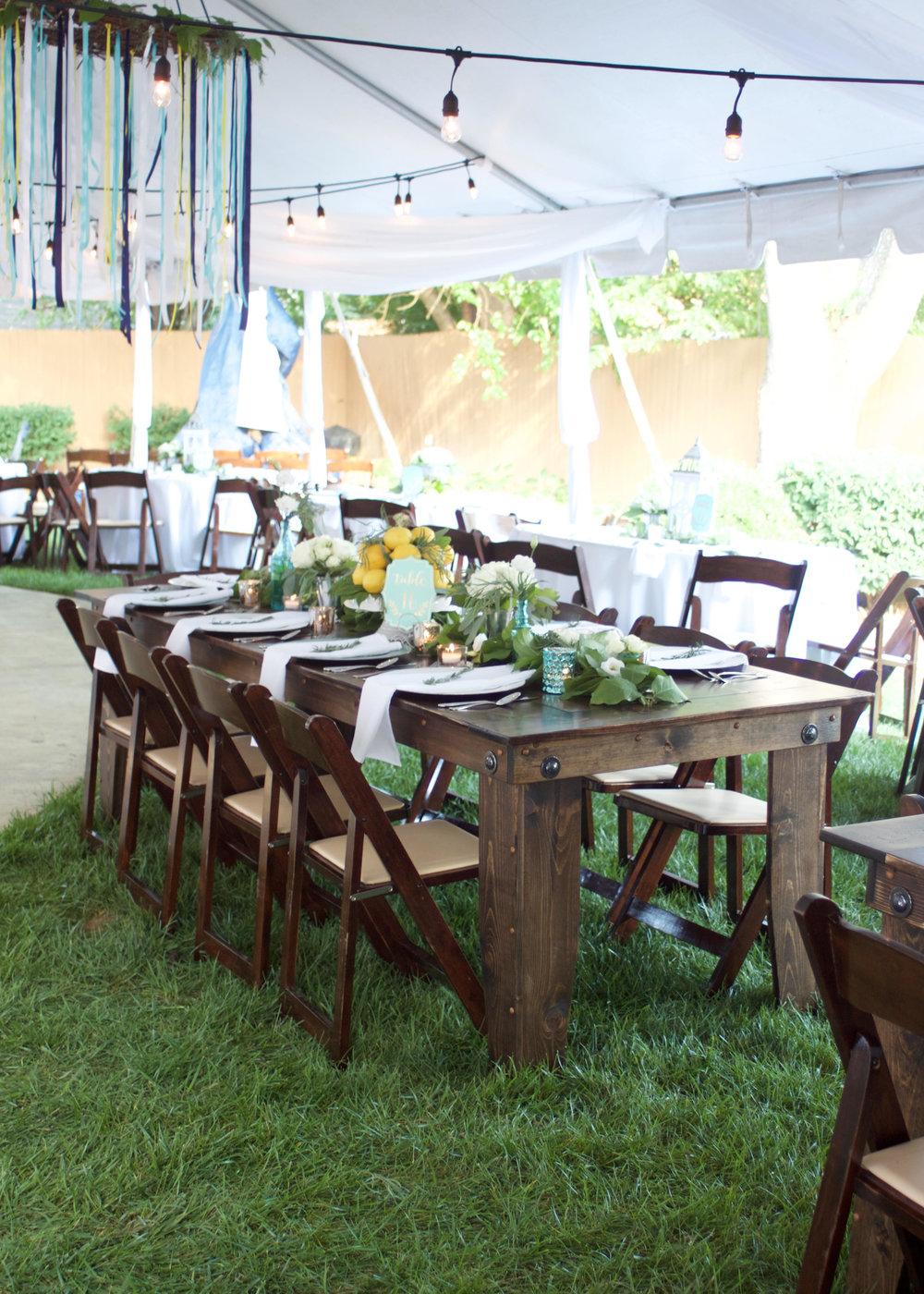 Farm House Table Rentals Louisville KY