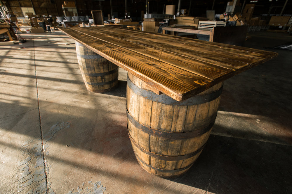 Bourbon Barrel Bartop