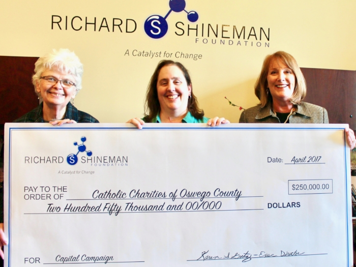 Shineman Foundation Donates