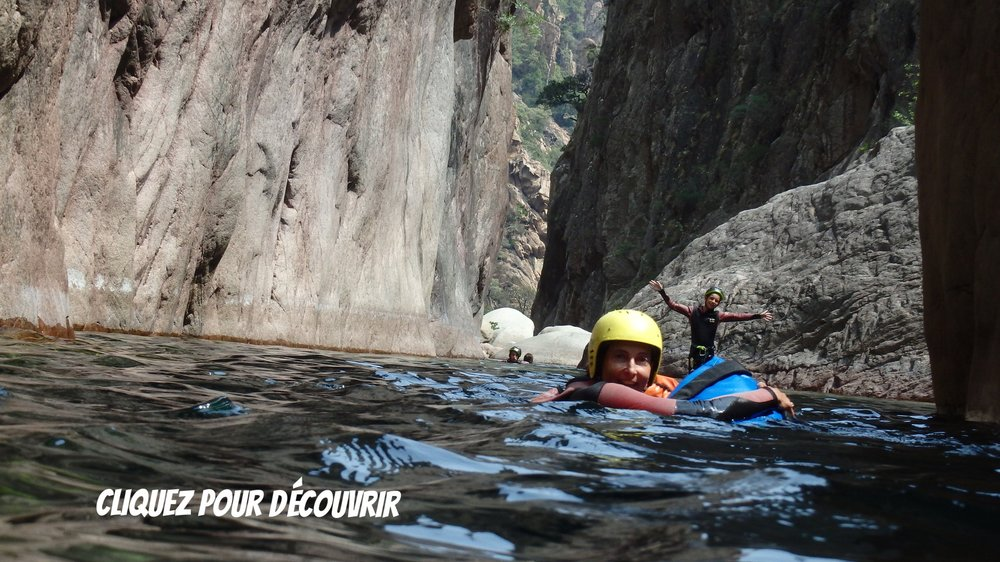 VACCA* - Le must des canyons Corse '4h' avec sauts, nage et rappels. 60€/persRESERVEZ DES MAINTENANT