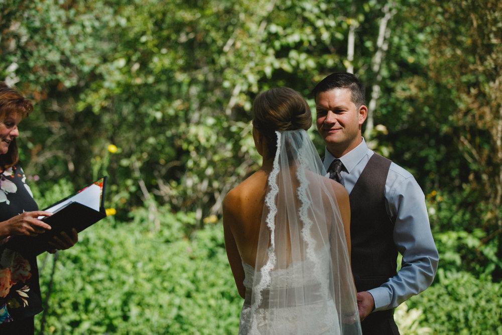 backyard wedding near sherwood park with chelsea dawn photography