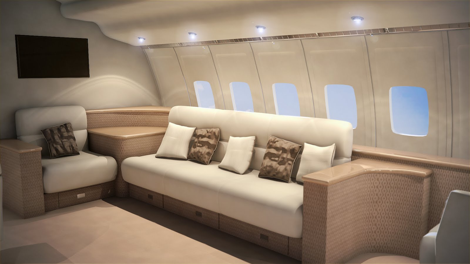 3D Aircraft Interior design