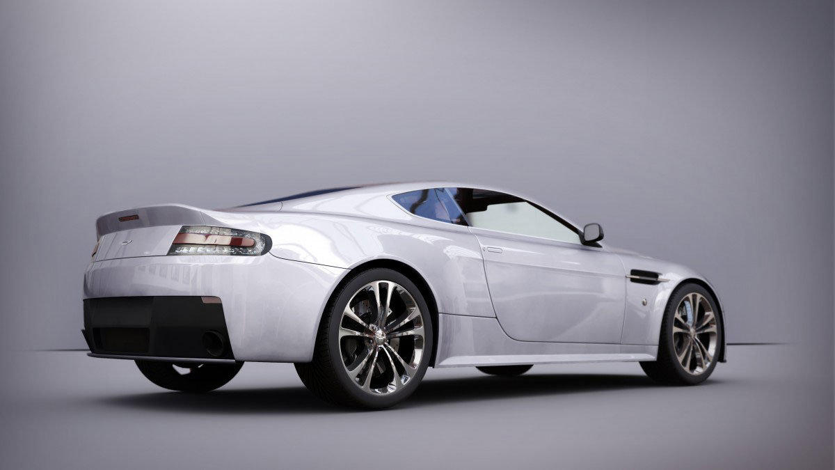 Aston Martin Mental Ray Jaked3d2