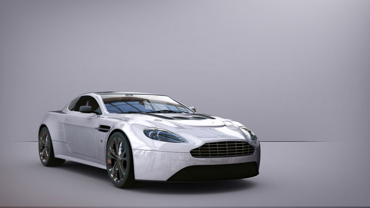 Aston Martin Mental Ray Jaked3d