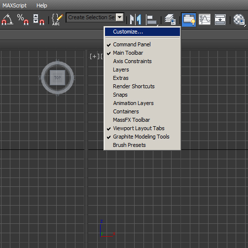 Add Pop Up Notes in 3ds Max Step 1