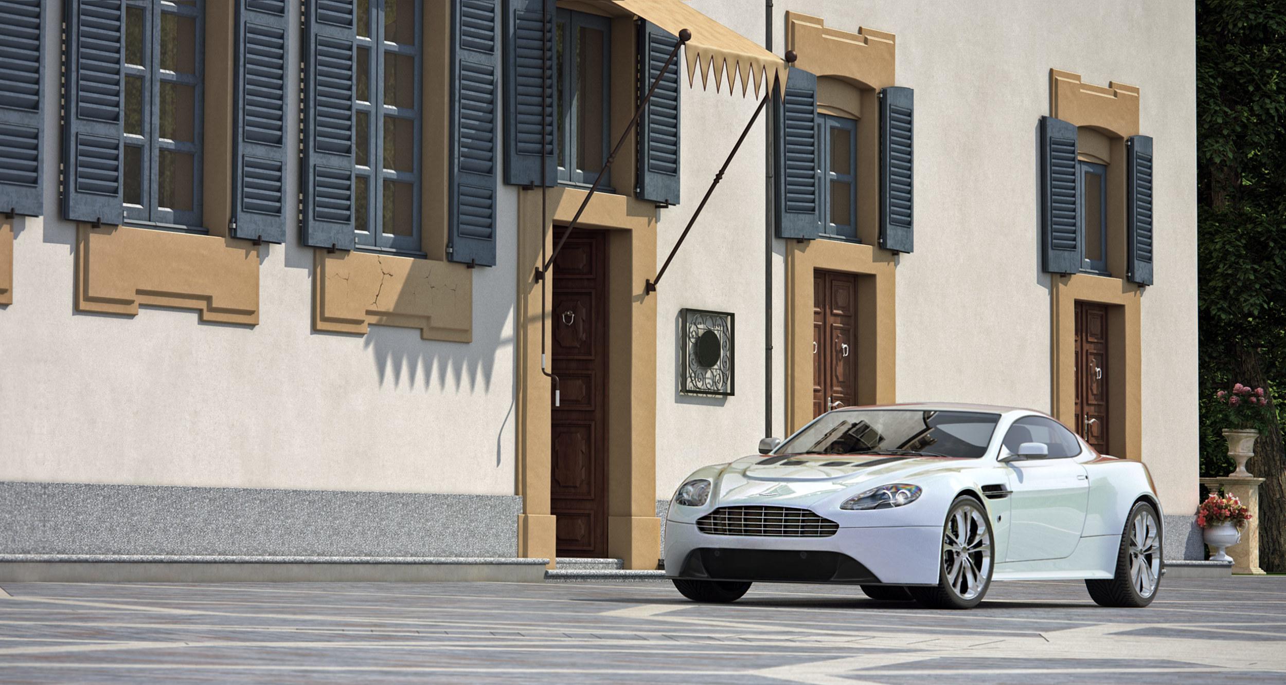 Aston Martin Parked