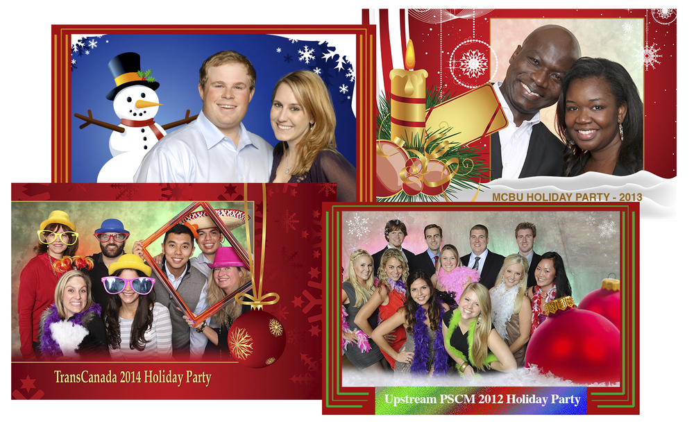 Holiday Party Photo Favors & Photo Booths in Houston