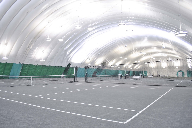 Fall Winter Courts Fairfield Tennis