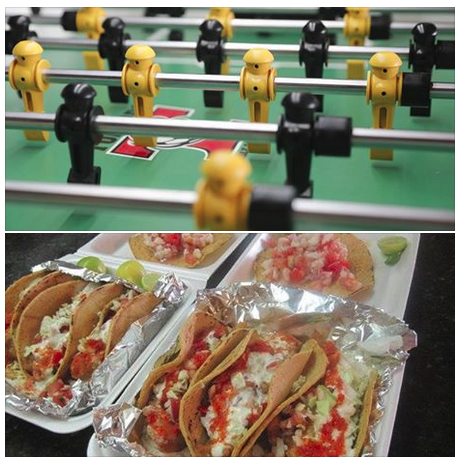 uyyys, it's Taco Foosday! We're combining two of our favorite things into one weekly extravaganza, featuring Papa Juan's Fish & Shrimp Tacos and Foosball all night. Beginner draw your partner tournament at 8PM and open draw your partner event at 9PM. Beginners can play in both events for $6 each, or $11 for both. The open event will be $11 for higher ranked players.