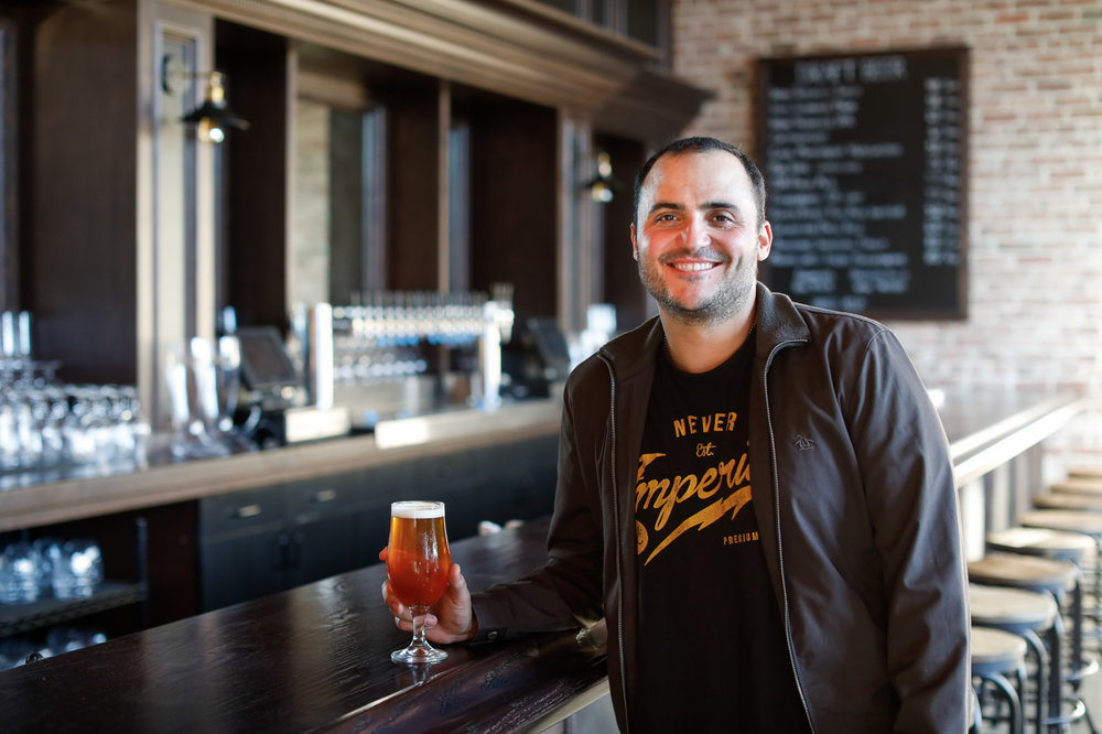 Brian Restivo   Taproom / Events Manager - brian.restivo@irontrianglebrewing.com