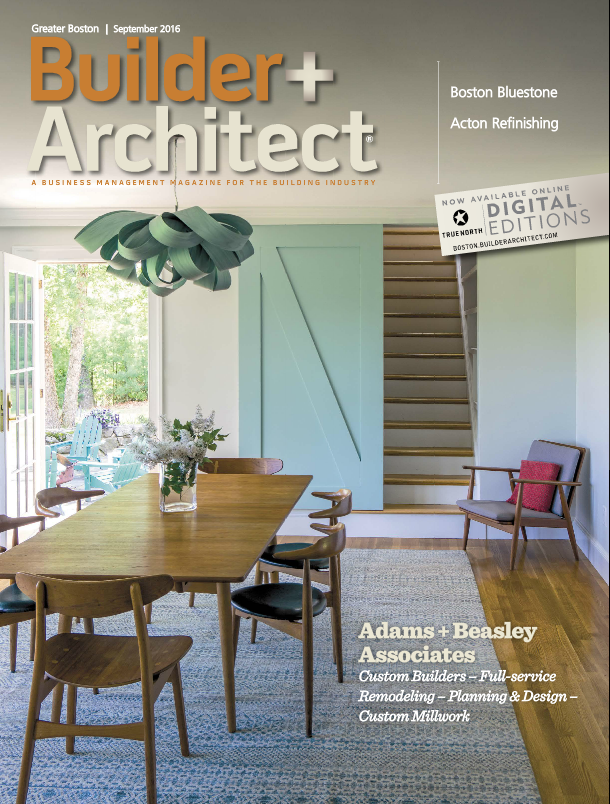 Weu0027re Excited To Show Off The September Edition Of Builder + Architect  Magazine! Thank You To Betty Moore For Getting To Know Our Company A Little  Better, ...
