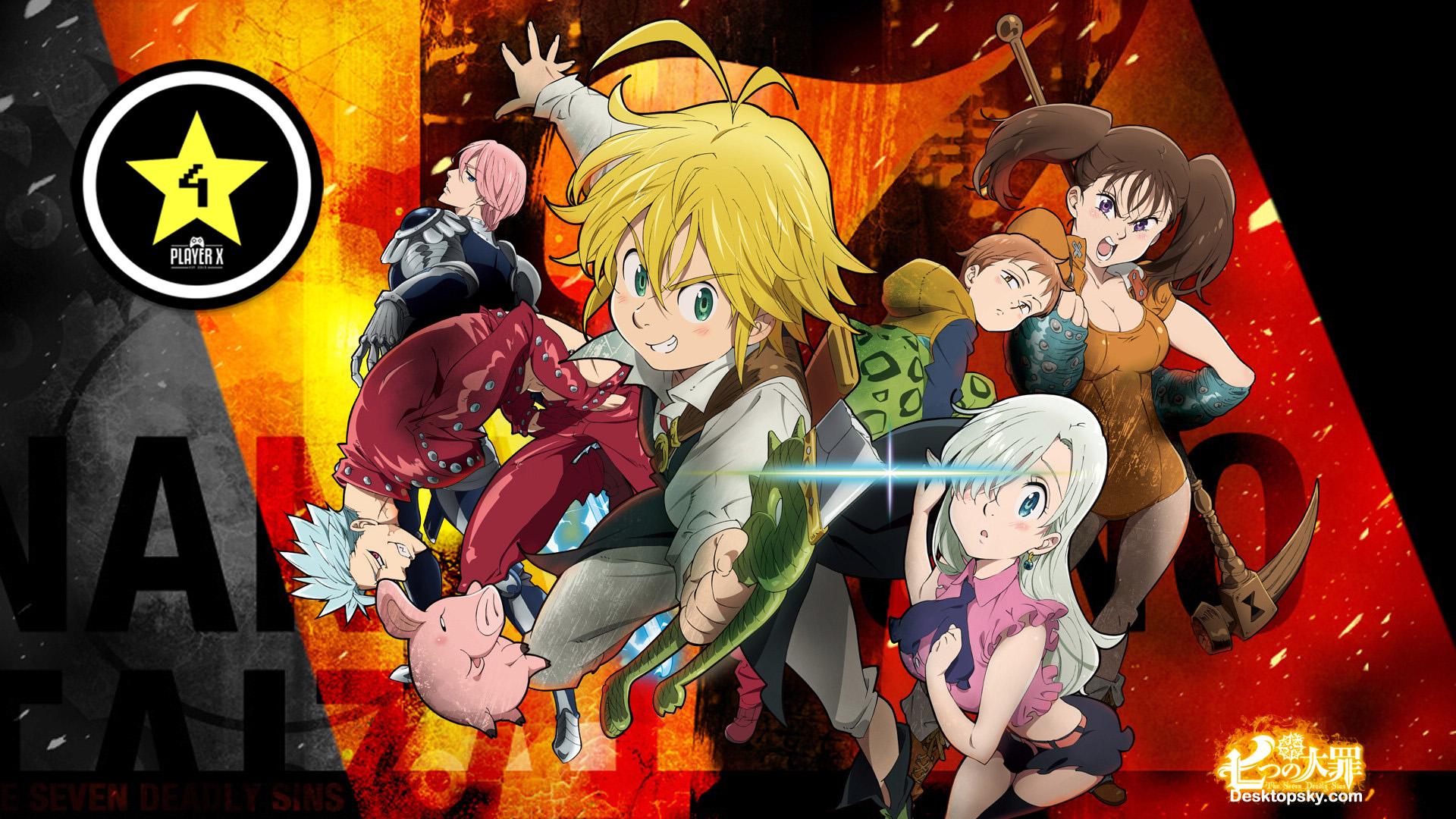 Anime review nanatsu no taizai 7 pecados capitales