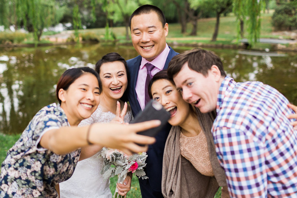 Wedding selfie - Canberra Small Weddings
