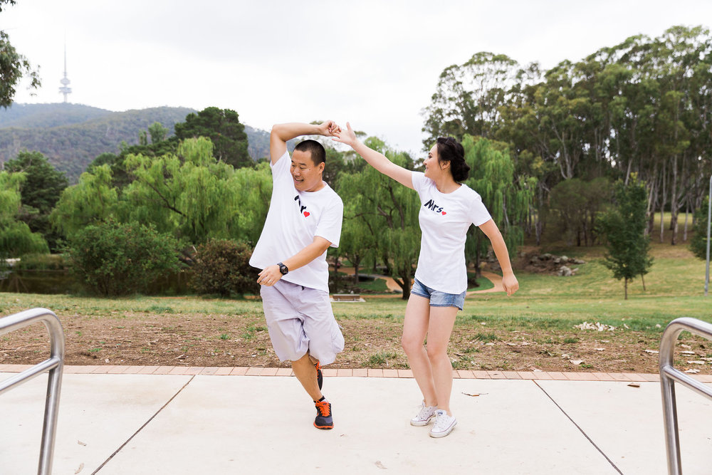 Wedding dance routine - Canberra Small Weddings