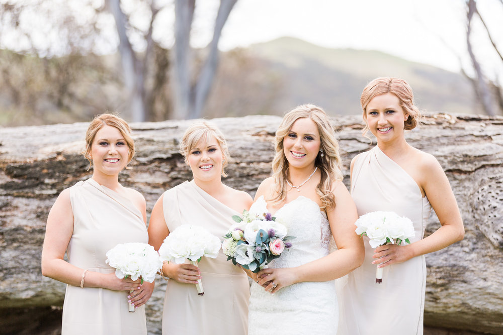 Bride and Bridesmaids - Gold Creek Station