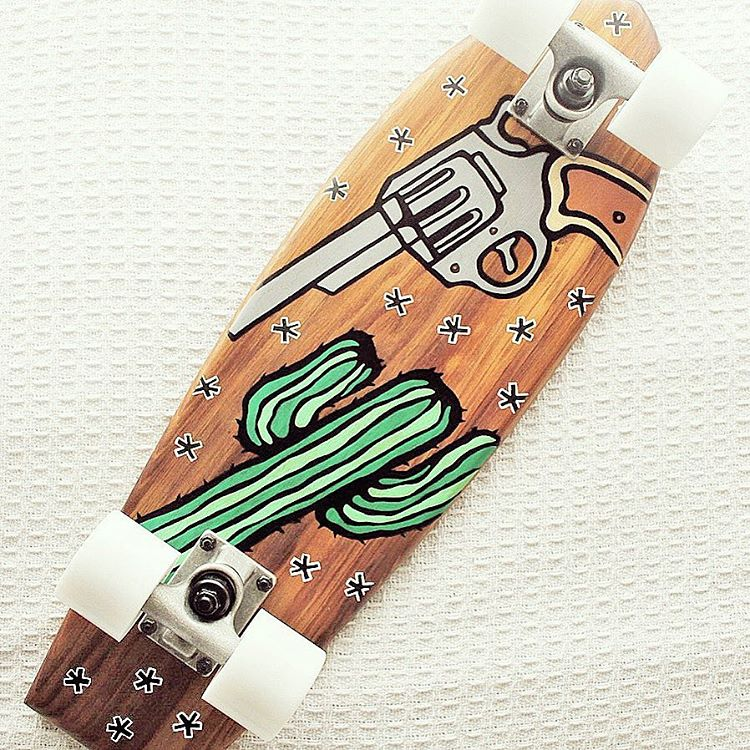 Lark Skate Co x Lauren Webster LONE RANGER Series