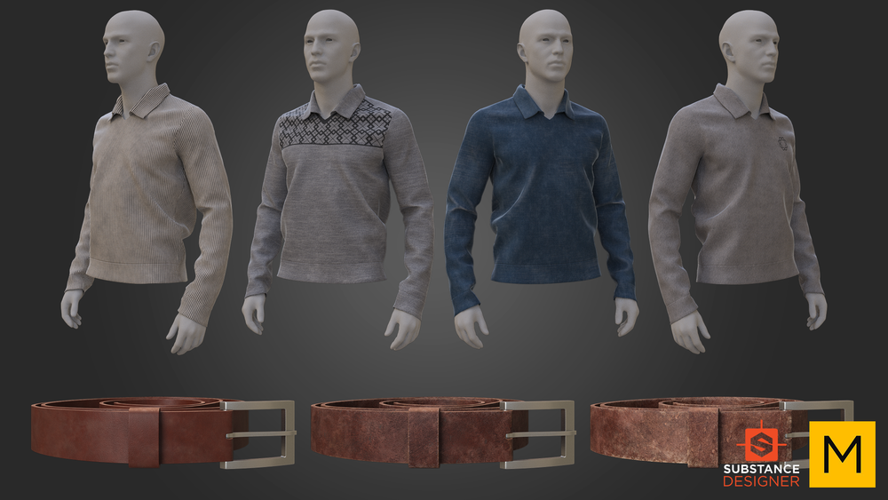 SUBSTANCE AND MARVELOUS DESIGNER STUDY