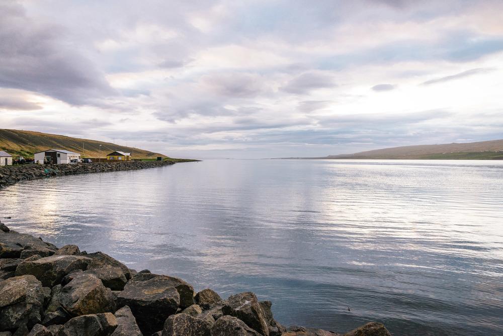 View from Borðeyri