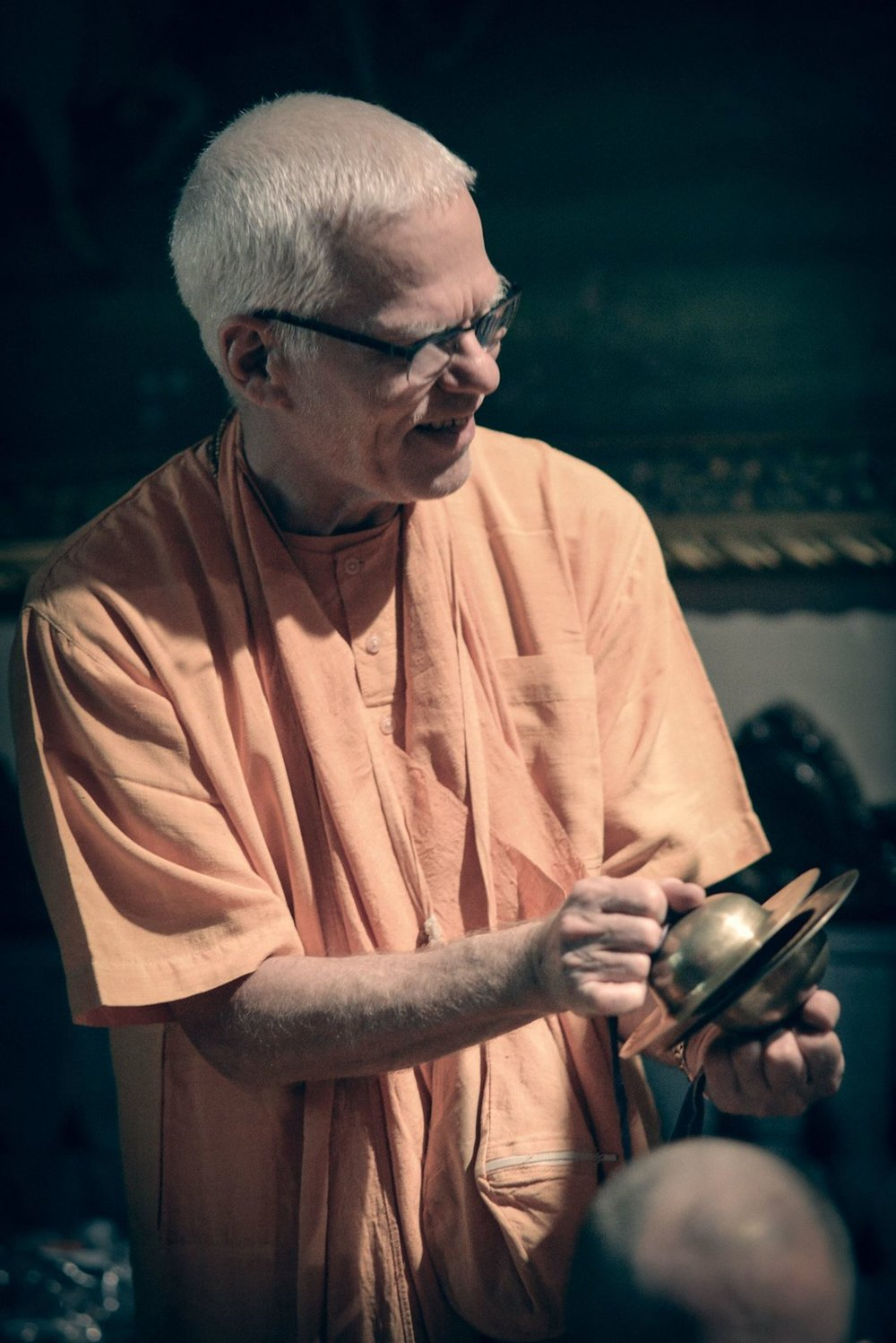HH Rtadhvaja Swami - Maharaj's true passion has been taking care of the youth of our society. For seven years, he ran the Vaisnava Academy for Boys in Alachua, Florida. From 1990 to 2003, he traveled with groups of boys to Ratha Yatras all across the U.S., and in 2004, took a group of youth to Europe. His preaching has taken him all over the world, however, he concentrated his efforts in Texas, Europe and Asia. For the past few years, Maharaja has been spending all of his time in the United States, traveling between Florida, Tennessee and Texas. Maharaja's open and friendly nature not only draws the youth to him, but attracts and inspires the devotees wherever he goes. His humorous, practical, and down to earth preaching style is appreciated by all who meet him.We are SO excited to have him this year!