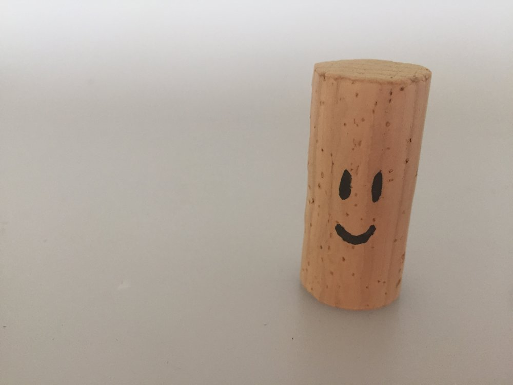 BOB - is made of cork.