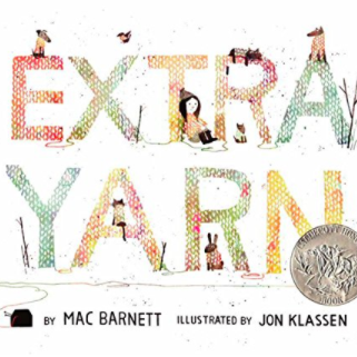 by Mac Barnett and Jon Klassen   The story of a girl who knits a little bit of magic.