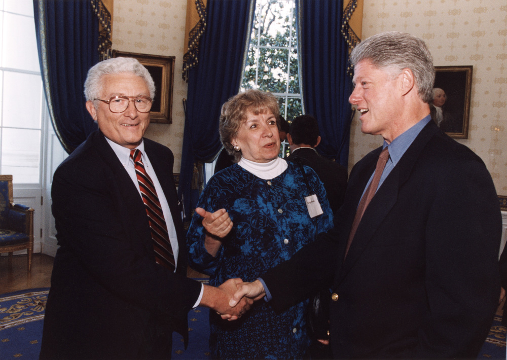 Photo for Item 14 High-Res Sandy_Nemitz_with Bill Clinton June 27 1997.jpg