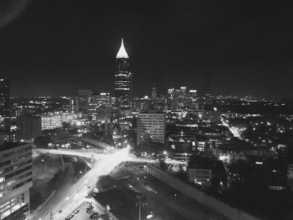 The view from my hotel in Atlanta at the National Meeting of the 2015 Evangelical Philosophical Society.