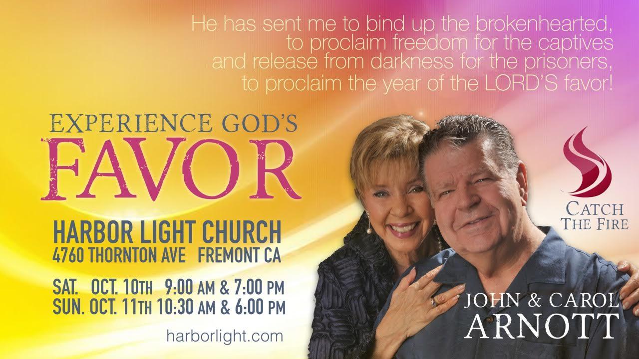 Fremont Ca Usa Harbor Light Church John Carol Arnott