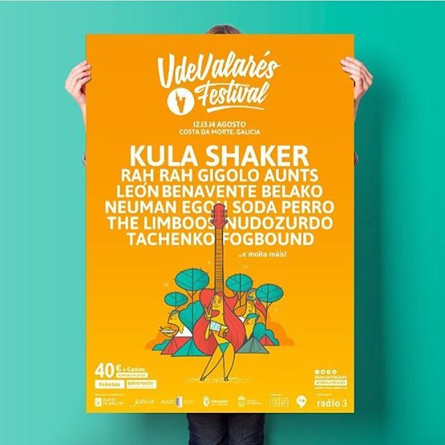 So excited to make our first trip to Spain later this summer and play @vdevalares!!!! #regram @ballesterock