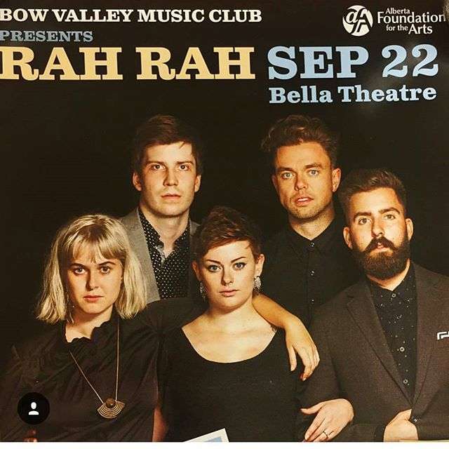The day has come! See you tonight Calgary friends! #bowvalleymusicclub
