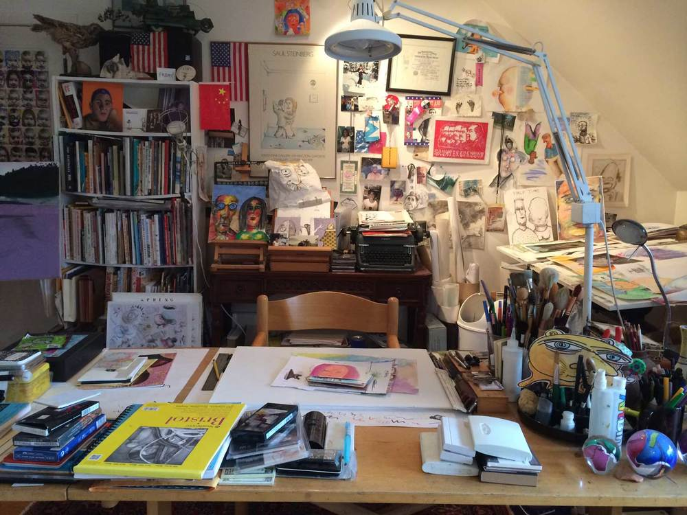 Jonathan Plotkin's Art Studio