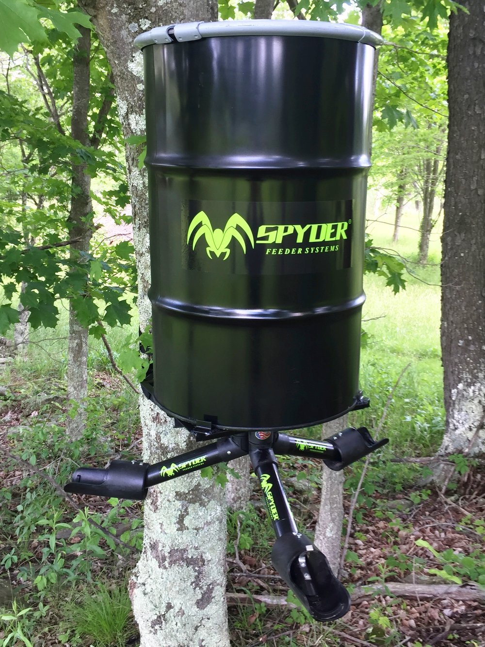 heater deer steel image result pinterest blinds pin stand feeders for feeder