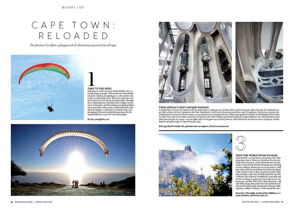 David & Radcliffe – Words – Cape Town: Reloaded