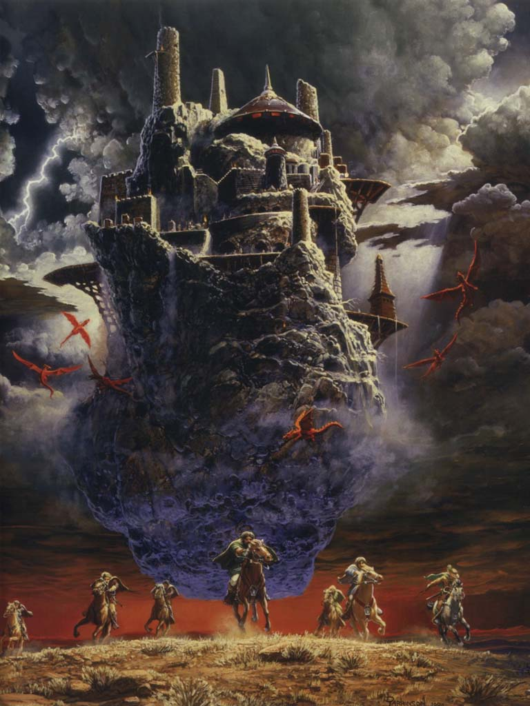 Yes, yes you can have your own flying citadel.  This pic made a real impression on me in my childhood.